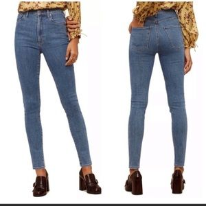 CoH x Wilfred Cleo Super High Rise Slim Jeans